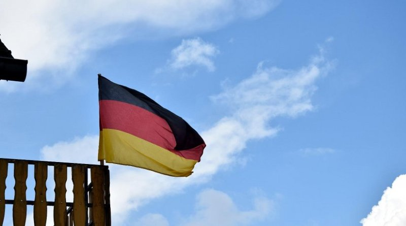 Germany's flag.