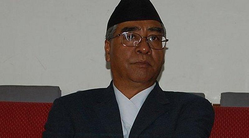Nepal's Sher Bahadur Deuba. File photo by Ashishlohorung, Wikimedia Commons.
