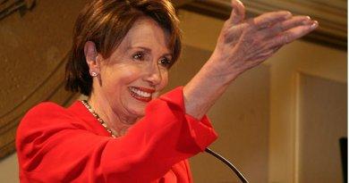 Nancy Pelos. Credit: Wikimedia Commons.