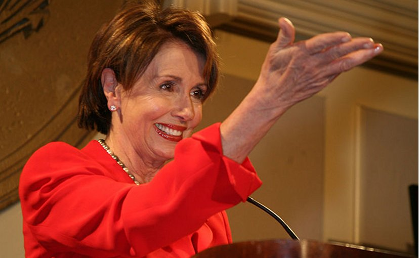 Nancy Pelosi. Credit: Wikimedia Commons.