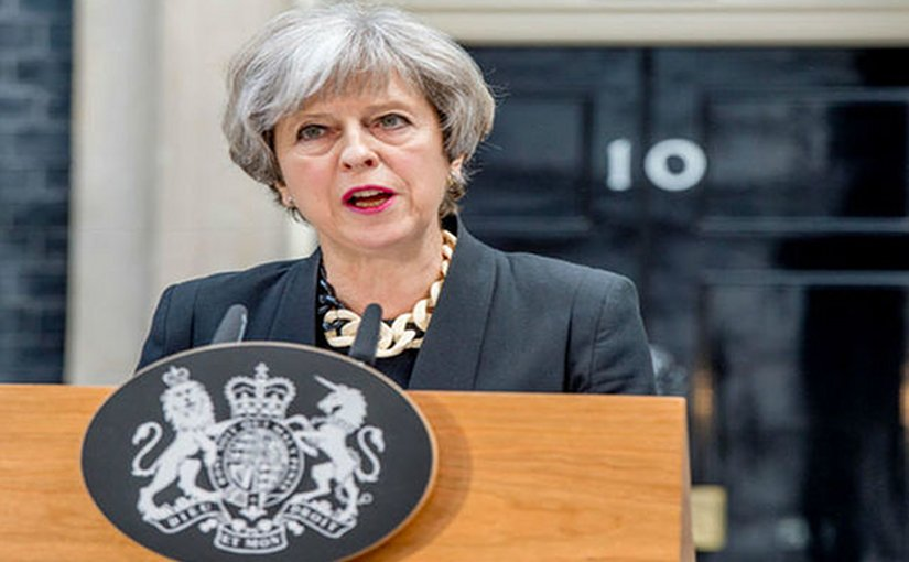 United Kingdom's Prime Minister Theresa May. Photo Credit: Prime Minister's Office.