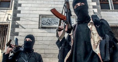 Members of Islamic State in Syria. Source: Islamic State propaganda material.
