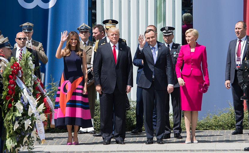 US President Donald Trump with the President of Poland, Andrzej Duda. Photo Credit: White House.