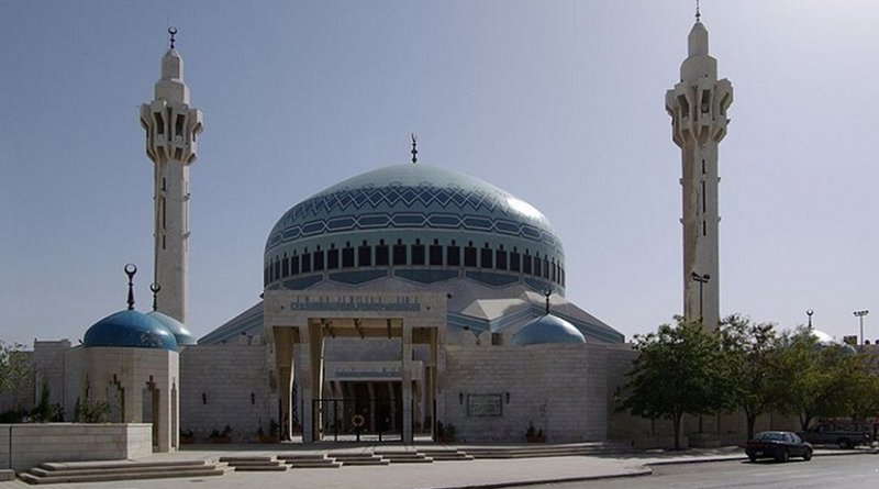 King Abdullah Mosque in Amman, Jordan. Photo by Berthold Werner, Wikipedia Commons.