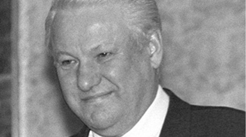 Russia's Boris Yeltsin. Photo by Alexander Makarov, Wikipedia Commons.