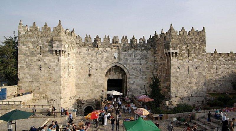 Damascus Gate, Jerusalem. Photo by Berthold Werner, Wikipedia Commons.