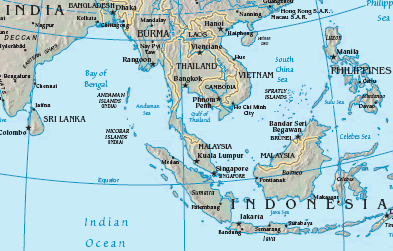 Figure 4. Map of the Strait of Malacca Map of Straits of Malacca  Source: CIA Factbook