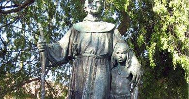Saint Serra Statue Defaced – OpEd