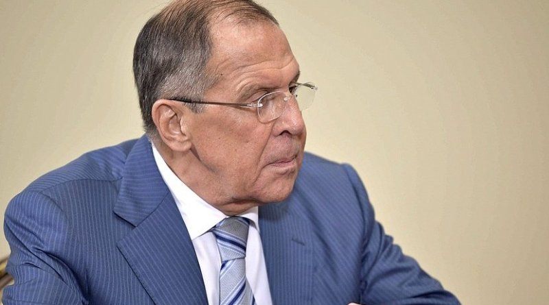 Foreign Minister of Russia Sergei Lavrov. Photo Credit: Kremlin.ru