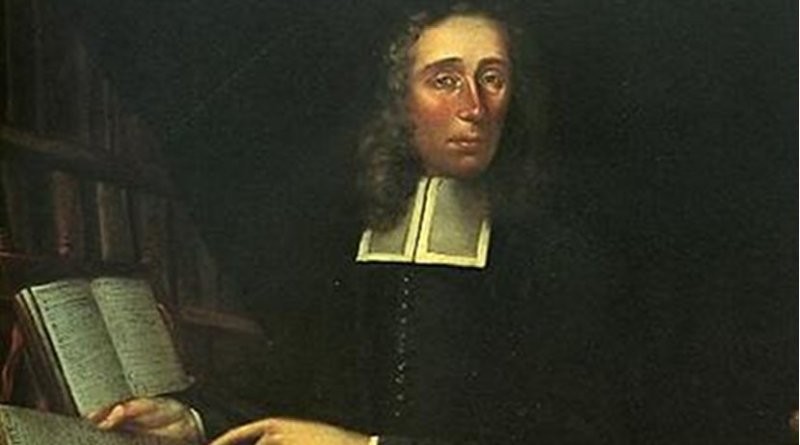 Portrait of Increase Mather by Joan van der Spriet. Increase Mather is the namesake of Mather House.