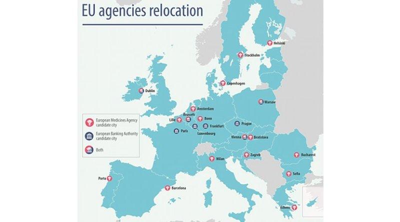 EU agencies relocation. Source: European Council