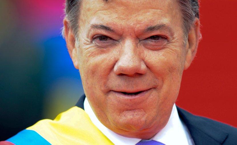 Colombia's Juan Manuel Santos. Photo Credit: Mauricio Muñoz E / Presidencia de la República.