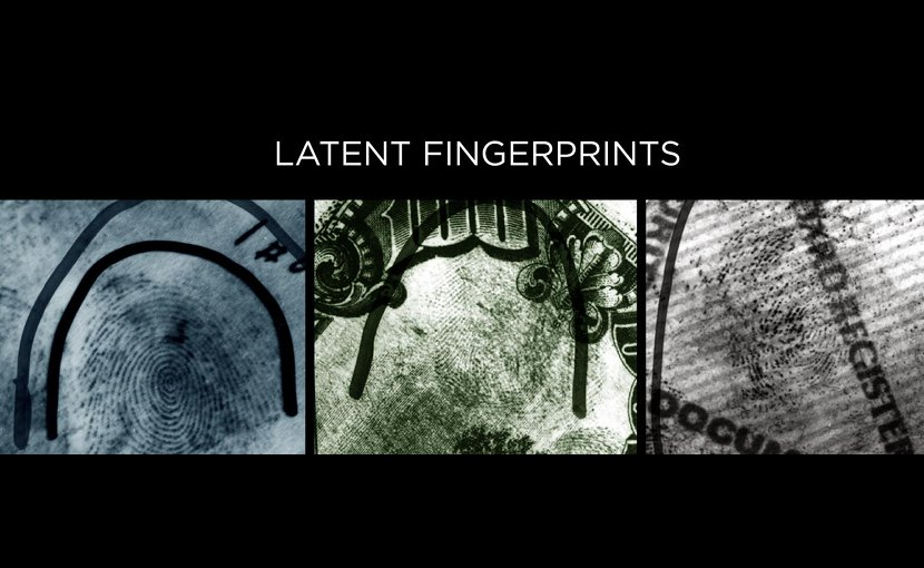 Fingerprints left at a crime scene -- so-called latent prints -- are often partial, distorted and smudged. Credit Credit: Chugh et al., Hancek/NIST