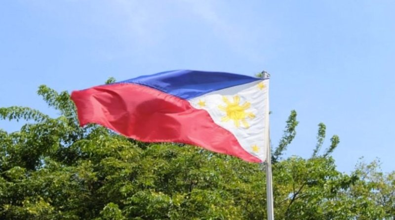 Flag of the Philippines.