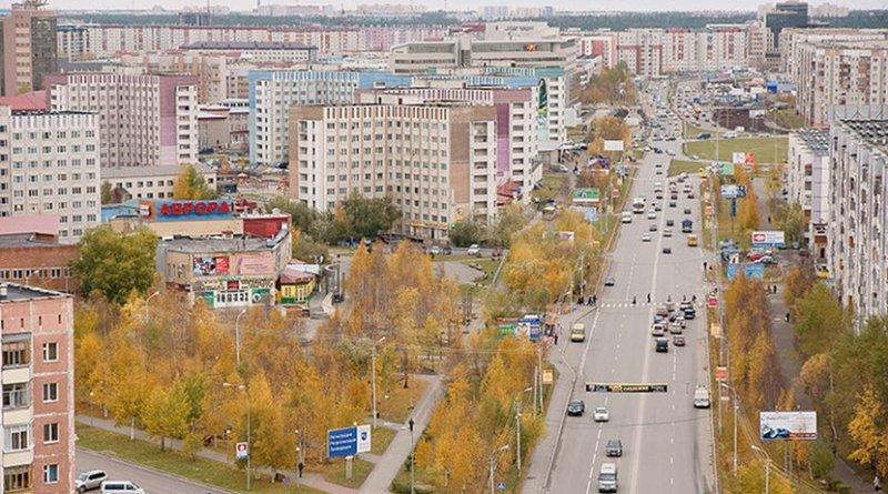 File photo of Surgut, Russia in Siberia region. Photo by Mariluna, Wikipedia Commons.