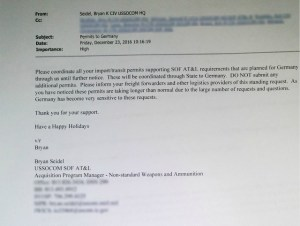 Socom's email.