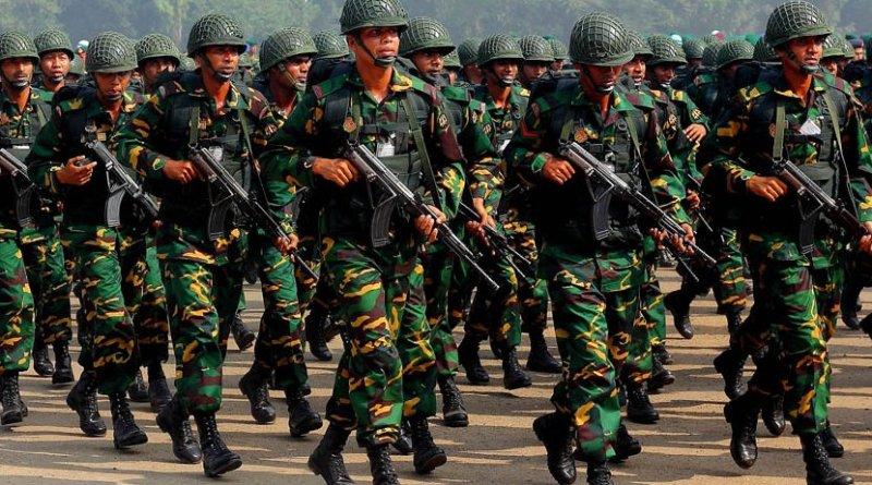 Bangladesh Army. Photo by Jubair1985, Wikipedia Commons.