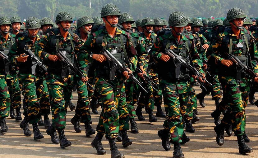 Bangladesh Army. Photo by Jubair1985, Wikipedia Commons.