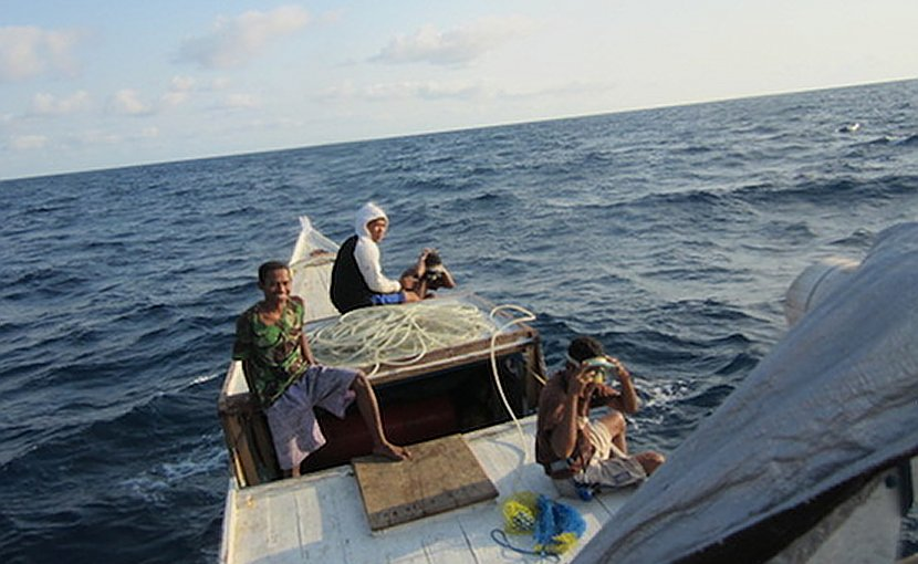 Traditional fishermen out catching fish off East Nusa Tenggara province. (Photo supplied)