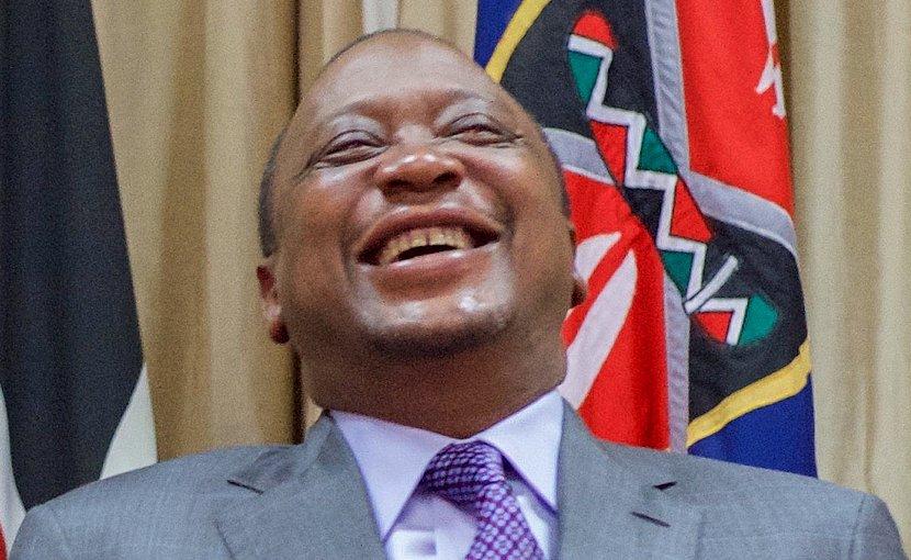 Kenya's Uhuru Kenyatta. Photo Credit:U.S. Department of State, WIkipedia Commons.
