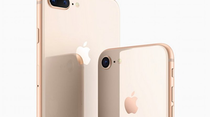 Apple's new iPhone: iPhone 8 and iPhone 8 Plus. Photo credit: Apple.