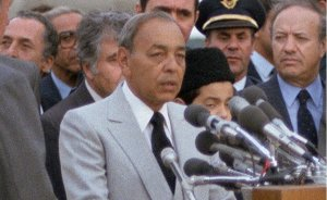 Morocco's King Hassan II. Photo by Felicia L. Wilson, DoD, Wikipedia Commons.