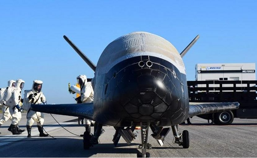 U.S. Air Force's X-37B Orbital Test Vehicle 4. Photo: US DoD.