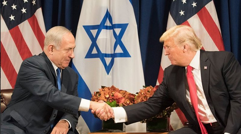 US President Donald Trump meets with Prime Minister Benjamin Netanyahu of Israel. Photo Credit: White House.