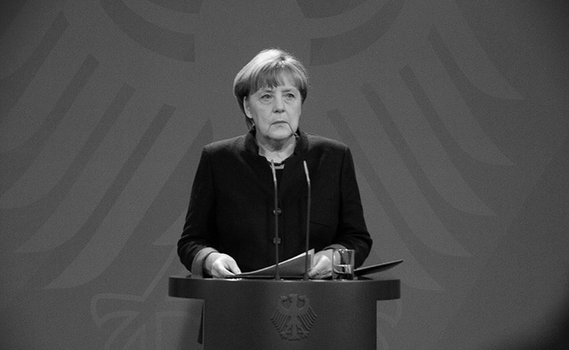 Germany's Angela Merkel. Photo by Emilio Esbardo, Wikimedia Commons.