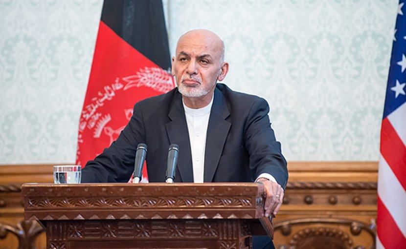 Afgnanistan's Ashraf Ghani. DOD photo by U.S. Air Force Staff Sgt. Jette Carr