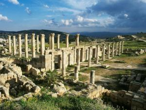 Volubilis, ancient Roman capital in Morocco