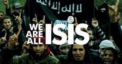 """""""We Are All ISIS,"""" propaganda from Islamic State."""