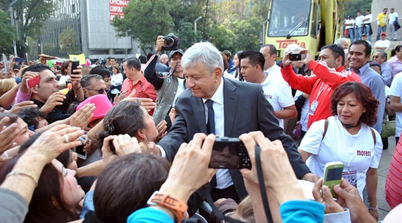 Andrés Manuel López Obrador. Photo by ProtoplasmaKid, Wikimedia Commons.