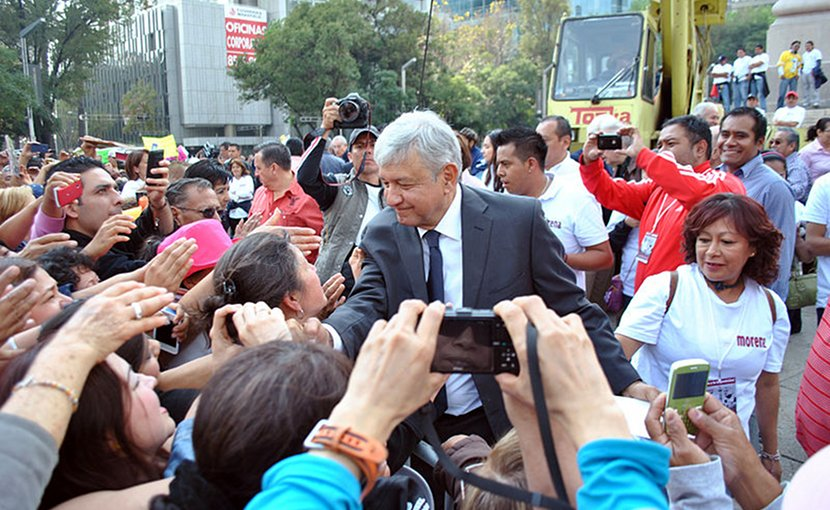 Andrés Manuel López Obrador. Photo by ProtoplasmaKid, Wikimedia Commons.