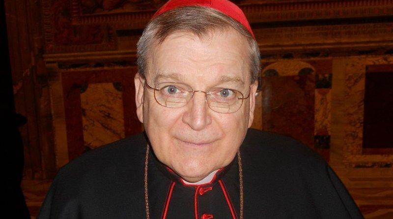 Cardinal Raymond Burke. Photo by Pufui Pc Pifpef I, Wikipedia Commons.