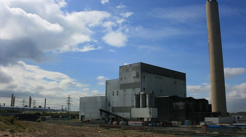 The Lynemouth Power Station in UK. Photo by Fintan264, Wikipedia Commons.
