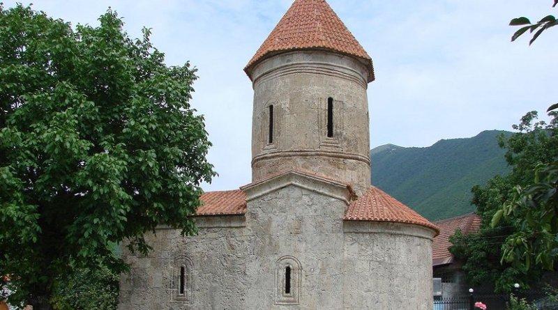 Kish church in Shaki, Azerbaijan