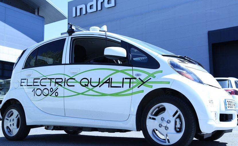 Autonomous vehicle AUTOCITS. Photo credit: Indra.