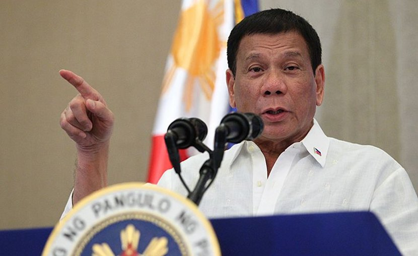 Philippine President Rodrigo Duterte. Photo Credit: PCOO EDP, Wikimedia Commons.