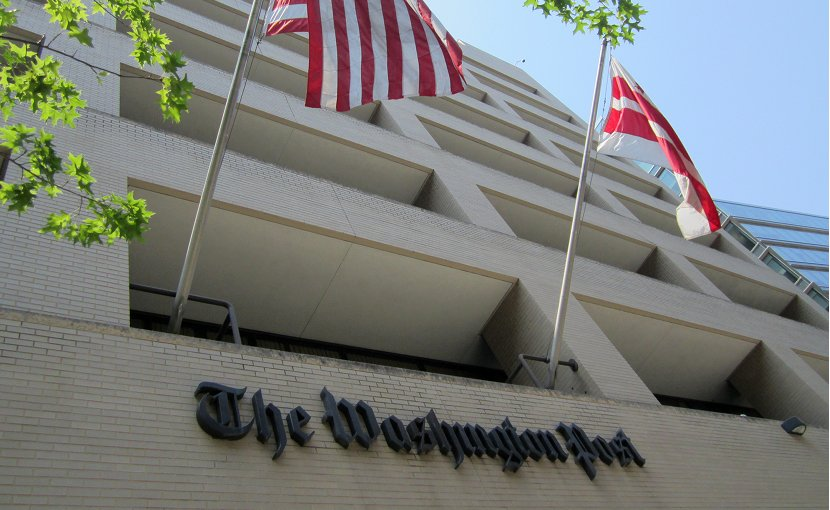 The Washington Post. Photo by Daniel X. O'Neil, Wikimedia Commons.