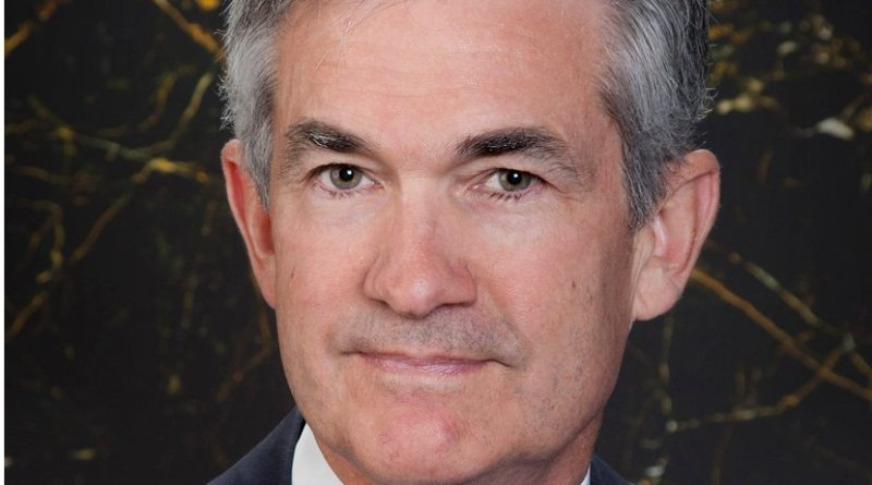Jerome Powell. Photo Official Photo Federal Reserve, Wikipedia Commons.