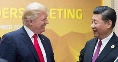 US President Donald Trump and China's President Xi Jinping at APEC Summit. Photo Credit: Official White House Photo by D. Myles Cullen