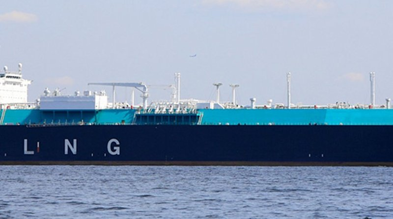 LNG Carrier. File photo by Tennen-Gas, Wikipedia Commons.