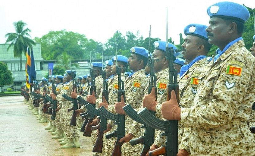 Members of Sri Lanka Army to participate in UN Peace Keeping Mission in Mali. Photo Credit: Sri Lanka Army.