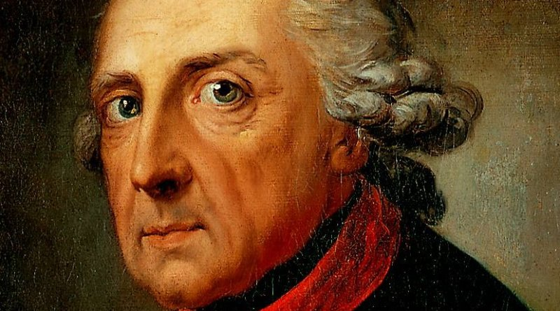 Frederick The Great of Prussia. Source: Wikipedia Commons.