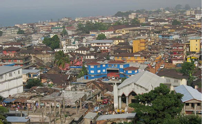 Freetown, Sierra Leone. Photo by Magnus Ohman, Wikipedia Commons.