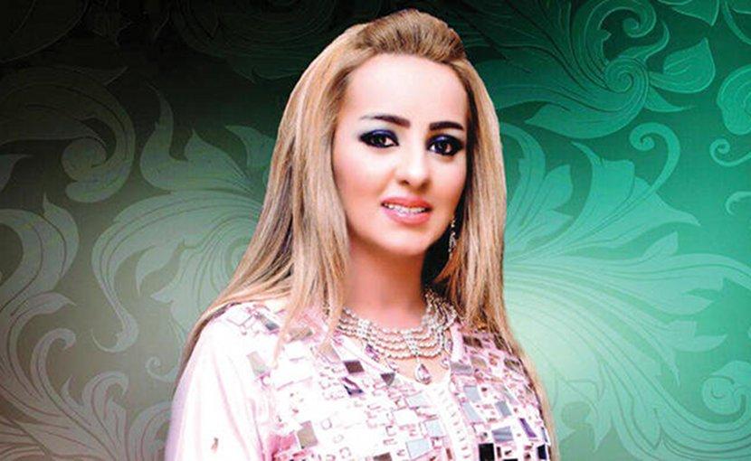 Moroccan singer Zina Daoudia