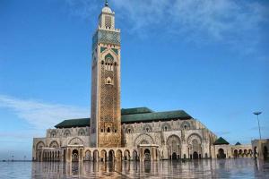 Morocco's Hassan II mosque.