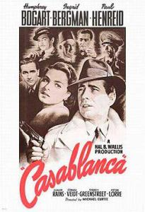 Poster for the movie Casablanca