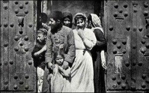 The Ottomans worked to repress the Yishuv and initiated mass expulsions of Jews from Palestine during World War I.